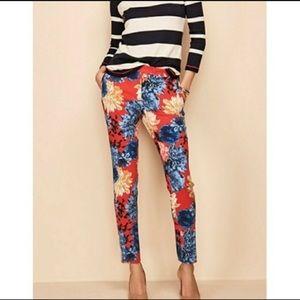Talbots floral pants
